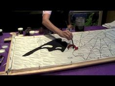 This short 3-minute video will give you the idea of how a silk painting is created, from start to finish.  With Pamela Glose, www.MySilkArt.com.