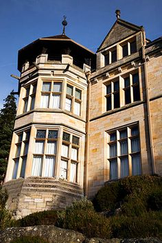 Cragside House Rothbury Northumberland England - this was the first house in the world to be lit by hydroelectric power!