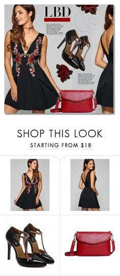 """Little Black Dress"" by svijetlana ❤ liked on Polyvore featuring LBD, polyvoreeditorial and twinkledeals"