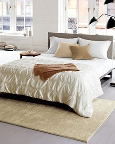 Lightweight, lustrous and luxurious against the skin, this pure-silk comforter is simply irresistible. Whether it's your one-and-only summer cover or layered with other bedding for cooler weather, its touch is irresistible.