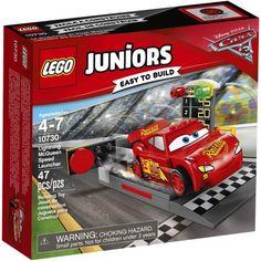 Lego Juniors Disney Cars 3 Lightning McQueen Speed Launcher 10730