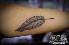 Leaf tattoo idea