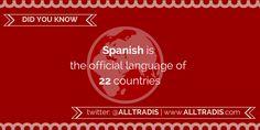 Alltradis Did You Know Language Facts http://alltradis.com #language #translation #interpretation #quote