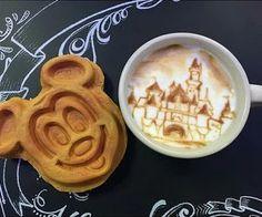 I love Mickey waffles
