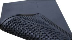 ComfortBed High quality 25mm thick cubicle rubber mat Unique honeycomb base that provides softness and stability Suitable for floor-mounted and suspender divider systems