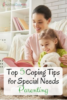 Top 5 Coping Tips for Special Needs Parenting purposelivingwife.com Be sure to read these 5 tips to gain some insight into how to cope as a parent of a #specialneeds child!