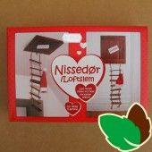 Nissedør - Loftslem Nissebo