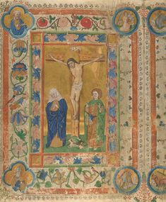The Crucifixion | Germany | 1457 | The Morgan Library & Museum