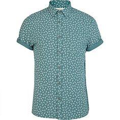 RIVER ISLAND - Desenli Gömlek Daha fazlası: Hipnottis.com
