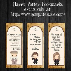 Harry Potter 25 Perfect Harry Potter Printables - Collected by Bombshell Bling - These free printable Harry Potter bookmarks feature a few of the wisest characters and some of the best quotes to keep your mind and heart at Hogwarts. Marque Page Harry Potter, Harry Potter Kostüm, Harry Potter Planner, Harry Potter Cosplay, Harry Potter Birthday, Harry Potter Printable Bookmarks, Harry Potter Bookmark, Free Printable Bookmarks, Harry Potter Printables