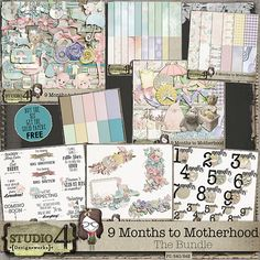 9 Months to Motherhood - The Bundle
