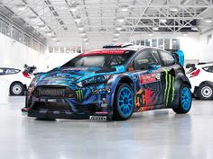 2013 Ford Fiesta ST RX43 Ken Block Toy :)