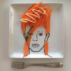 人参サラダ用皿。