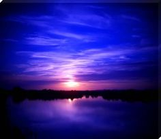 purple water | Gorgeous reflections on the water of a lake in the Arizona desert. The ...