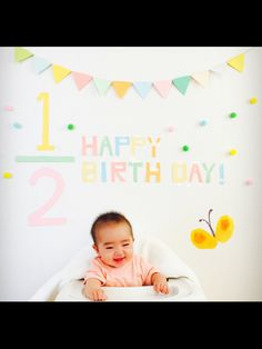 ハーフバースデー Half Birthday, Birthday Ideas, Creative Shots, 2nd Birth, Baby Photos, Sweet, Bebe, Candy, Baby Pictures