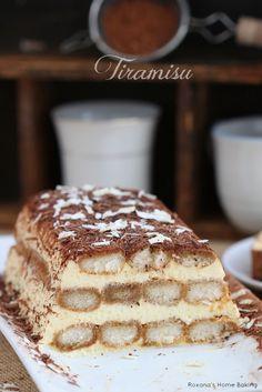 Tiramisu - a classic Italian dessert made with just a handful of ingredients. Recipe from Roxanashomebaking.com