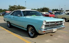1967 Ford Fairlane in Tropical Turquoise