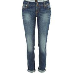 Mid wash Matilda skinny jeans