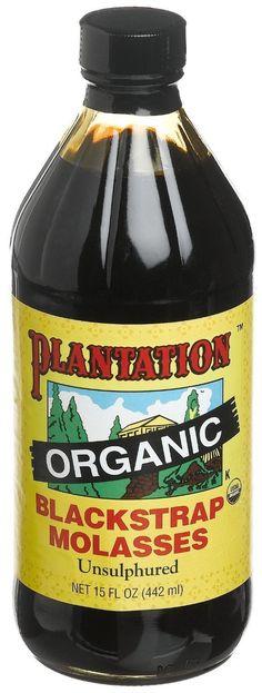 Plantation Organic Blackstrap Molasses (12x15 Oz) -- Want additional info? Click on the image.