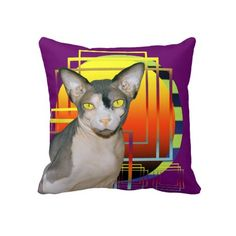 Pillow | Sphynx Cat Ninja