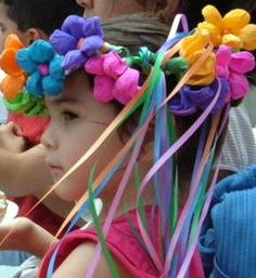 mexican paper flower wreaths