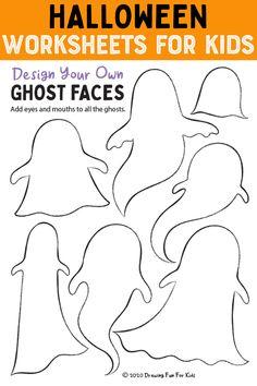 Halloween Worksheet For Toddlers, Preschool