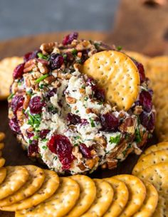 What better way to impress your family and guests this holiday season than with this festive cranberry pecan chive and garlic loaded cheese ball. Cheese Ball Recipes, Appetizer Recipes, Potato Recipes, Vegetable Recipes, Dinner Recipes, Holiday Appetizers, Holiday Recipes, Hot Appetizers, Thanksgiving Appetizers