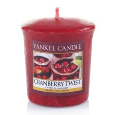 Bougie Yankee Candle - Cranberry Twist - votive