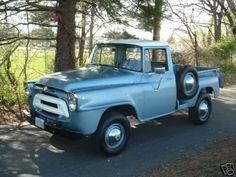 International Pick-Up Truck.