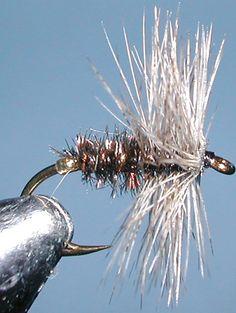 Coch y bondhu trout fly