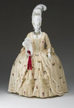 Robe a l'anglaise ca. 1780-90(?)    From the Mint Museum