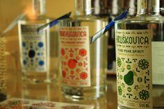 Slovak destillates made from fruit / pravé ovocné destiláty zo slovenských sadov