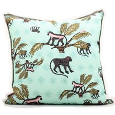 Monkey Cushion - Ardmore Collection