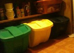 Suncast Recycle Bin Kit: Adding a home recycling bin or containers to your kitchen or other area of your home is essential if you and your family want to start recycling items,