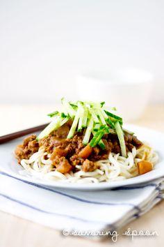 Beijing Fried Sauce Noodles