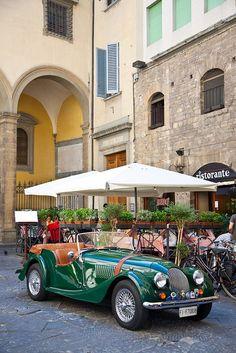 Via dei Guicciardini, Florence, Italy.