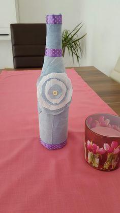 Jens Flasche Vase, Bottle, Handmade, Shoes, Home Decor, Flasks, Hand Made, Zapatos, Decoration Home