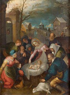 Ecole flamande XVIIe, atelier de Frans Francken Adoration des mages, cuivre, 35x26cm http://www.piasa.fr/en/node/47899/lot/node/3