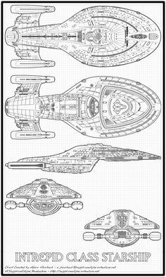 Schematic of Bridge from U.S.S. Enterprise NCC-1701 E