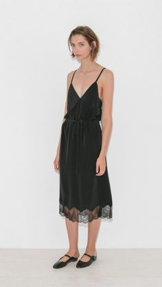 Cage Slip Dress by Zadig & Voltaire