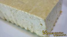 Aprende a hacer tofu (queso de soya) en casa, es muy fácil y los ingredientes son solo soja, agua…