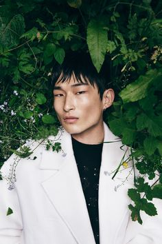 Man Photography, Outdoor Photography, Kim Sang Woo, Asian Male Model, Men Photoshoot, Male Fashion Trends, Fashion Photography Inspiration, Poses For Men, Beauty Shots