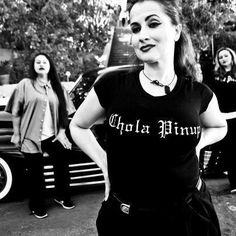 Fitted Chola Pinup shirt S-2XL only $30 plus shipping
