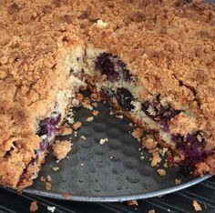 Big Fat Blueberry & Cinnamon Crumble