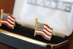 United States U.S. Flag Cuff Links