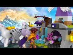 Lego Elves El trineo de pegasos de Aira 41077 en Eurekakids - YouTube