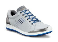 ECCO Biom Hybrid2 Men's Concrete/Royal Golf Shoes