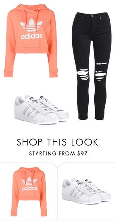 """Adidas"" by kacis-kacis on Polyvore featuring adidas, adidas Originals and AMIRI"