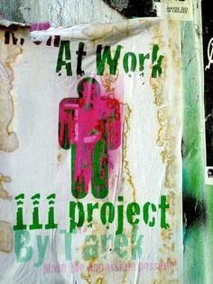 Tarek :: Men at Work #111 : #BD #streetart #graffiti #urban #presse :: Tarek est un auteur, mais aussi un artiste polymorphe qui explore dans chaque domaine toutes les possibilits avec lenvie de proposer, chaque fois, des oeuvres abouties ayant du sens et accessibles au plus grand nombre :: Site :: http://www.tarek-bd.fr | tarekpictures