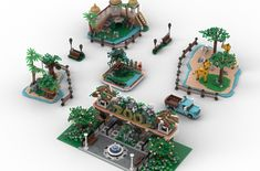 Zoo Giraffe, Elephant, Lego Zoo, City Zoo, Animal Experiences, Zoo Keeper, Lego Modular, Little Island, Lets Celebrate